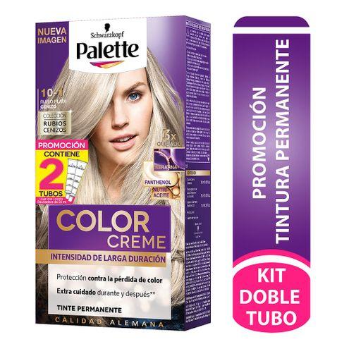 Comprar Tinte Palette Color Creme Permanente 10-1 Rubio Plata Cenizo Dt