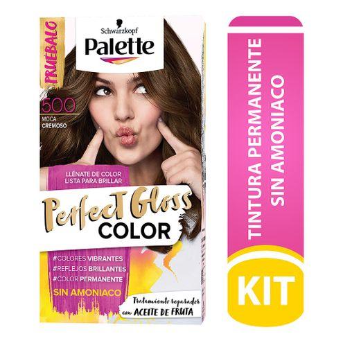 Comprar Tinte Palette Perfect Gloss Sin Amoniaco 500 Moca Cremoso Tub