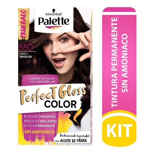 Comprar Tinte Palette Perfect Gloss Sin Amoniaco 550 Canela Tentacion Tub
