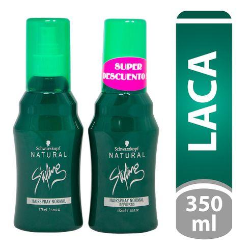 Comprar Laca Natural Styling Hairspray Normal 175ml + Repuesto Normal 175ml