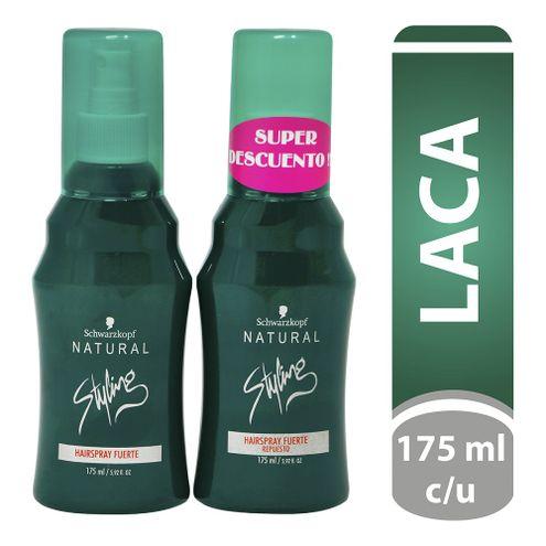 Comprar Laca Natural Styling Hairspray Fuerte 175ml + Repuesto Fuerte 175ml