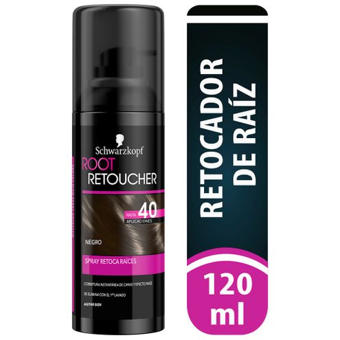 Comprar Retocador Root Retoucher Negro Spray