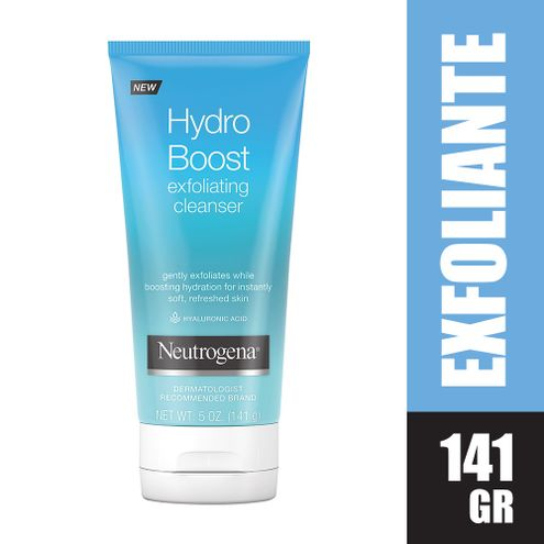 Comprar Neutrogena Hydro Boost Exfoliating Cleanser X 141 Gr