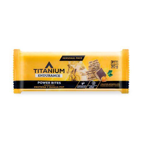 Comprar Barra Titanium Power Bites Frutos Amarillos X 30g