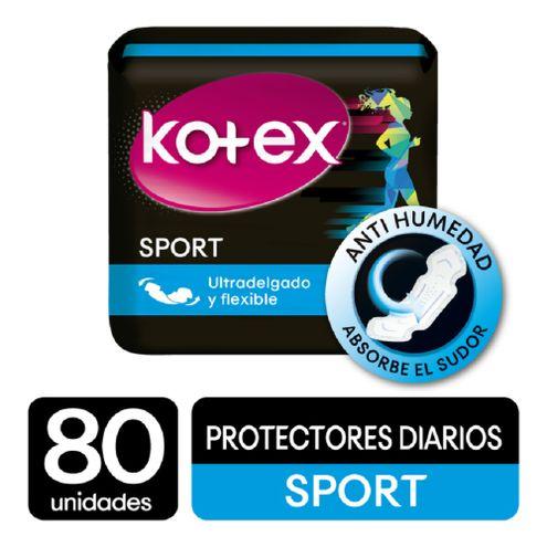 Comprar Protectores Diarios Kotex Sport X 80und