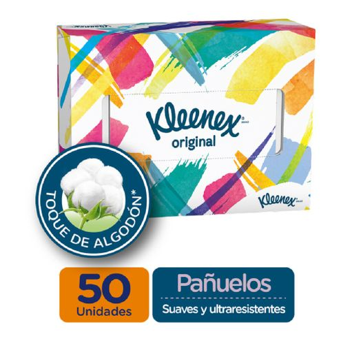 Comprar Pañuelos Faciales Kleenex Caja X 50und