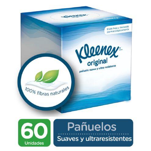 Comprar Pañuelos Faciales Kleenex Original Cubo X 60und