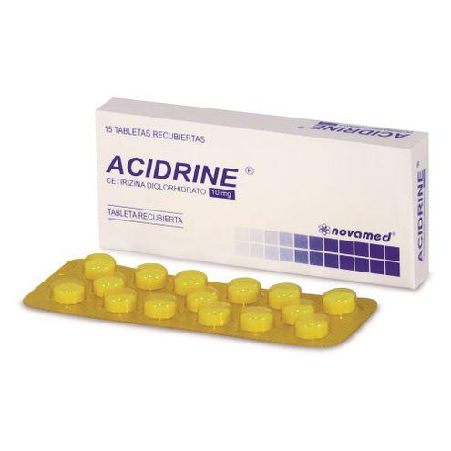 Comprar Acidrine 10mg Caja X 15 Tabletas