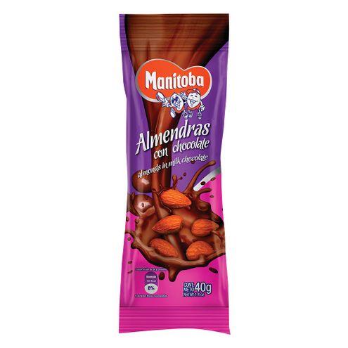 Comprar Almendras Manitoba Con Chocolate X 40g
