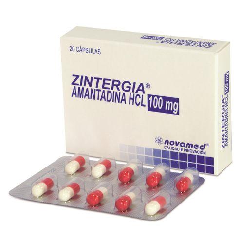 Comprar Zintergia 100mg Caja X 20 Capsulas