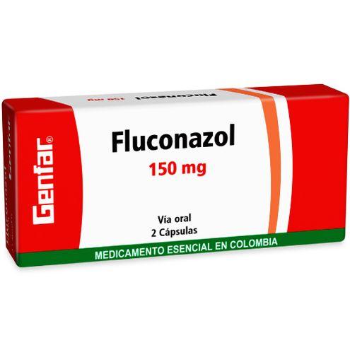 Comprar Genfar Fluconazol 150mg Caja X 2 Capsulas
