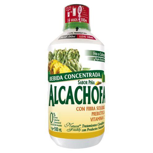 Comprar Bebida Alcachofa Natural Freshly Piña Pague 360ml Lleve 500ml