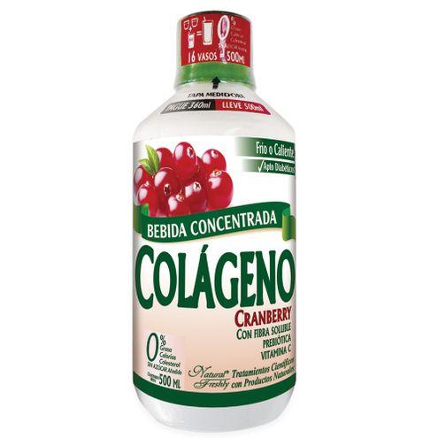 Comprar Bebida Concentrada Colageno Cranberry Pague 360 Lleve 500ml