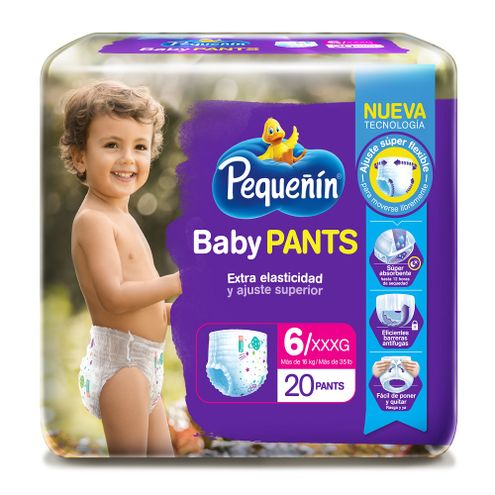 Comprar Pañal Pequeñín Baby Pants Etapa 6 X 20und