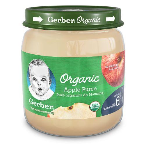 Comprar Compota Gerber Organica Manzana 6m+ X 113g