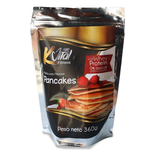 Comprar Pancakes Kvital Con Whey Protein X 360g