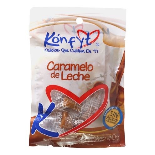 Comprar Caramelo De Leche Konfyt Sin Azucar X 30g