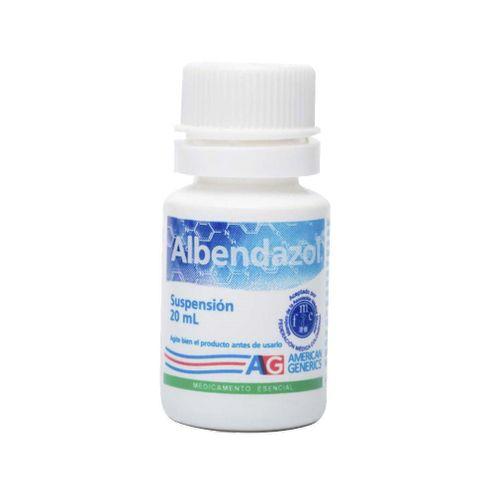 Comprar Albendazol Suspension Ag X 20ml