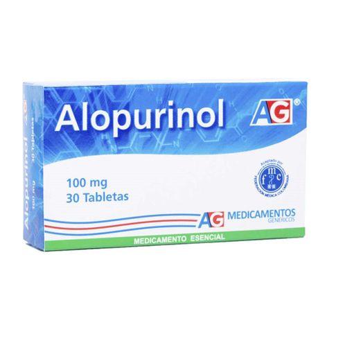 Comprar Alopurinol 100mg Ag X 30 Tabletas