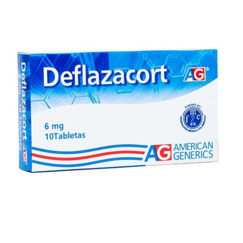 Comprar Deflazacort 6mg Ag X 10 Tabletas