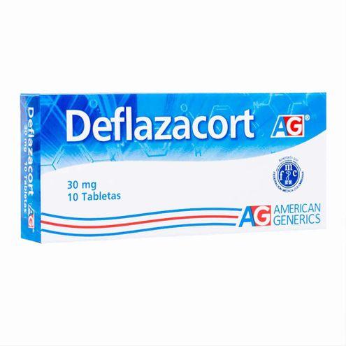 Comprar Deflazacort 30mg Ag X 10 Tabletas