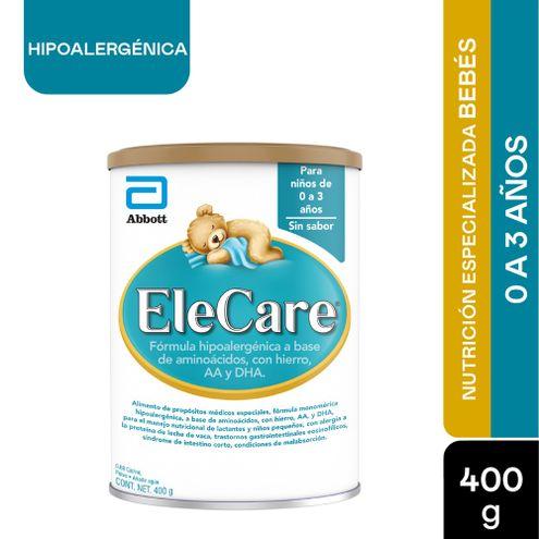 Comprar Formula Infantil Elecare Hipoalergenica 0-3años X 400g