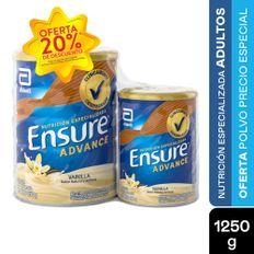 7703186032157_1_OFERTA-ENSURE-ADVANCE-VAINILLA-X-850G---400G