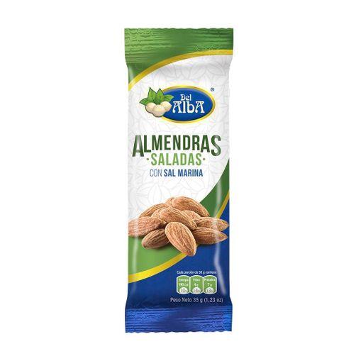 Comprar Almendras Saladas Del Alba X 35g