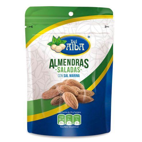 Comprar Almendras Sal Marina Del Alba X 100g - Almendras Del Alba Sal Marina X 100g