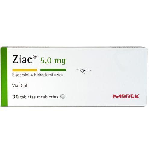 Comprar Ziac 5.0mg Caja X 30 Tabletas