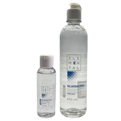 Comprar Gel Antibacterial Elemental X 480ml + Gel X 58ml