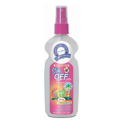 Comprar Repelente Stay Off Insectos Niños X 120ml