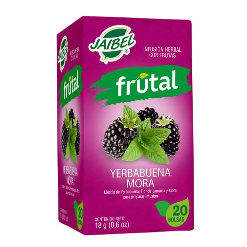 Comprar Aromatica Jaibel Frutal Yerbabuena Y Mora X 20 Sobres