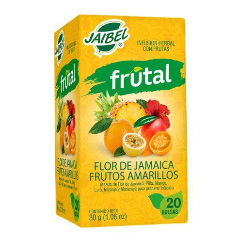Comprar Aromatica Jaibel Frutal Frutos Amarillos X 20 Sobres