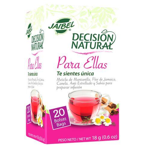 Comprar Aromatica Decision Natural Para Ellas X 20 Sobres