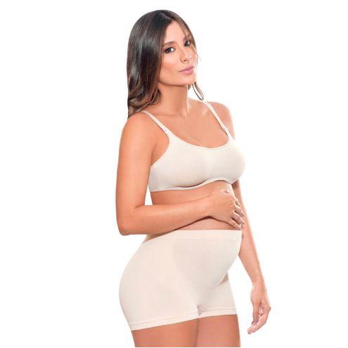 Comprar Boxer Materno Sin Costura Talla L Blanco Anne Shantel