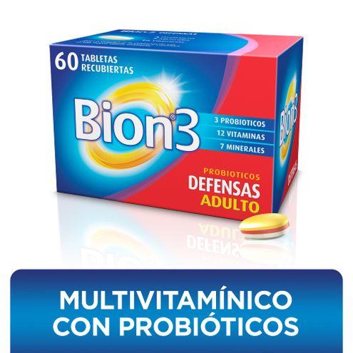 Comprar Bion3 Suplemento Dietario X 60 Tabletas