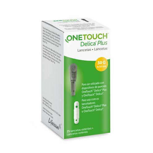 Comprar Lanceta One Touch Delica Plus X 25und