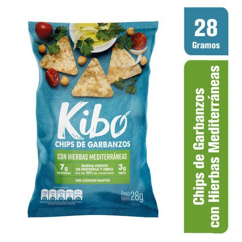 Comprar Chips Kibo Garbanzos Hierbas Mediterraneas X 28g
