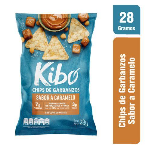 Comprar Chips Kibo Garbanzos Caramelo X 28g