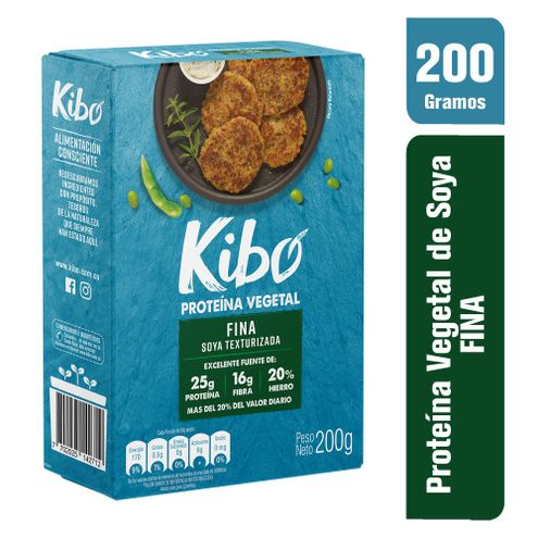 Comprar Proteina Vegetal Kibo Fina Soya Texturizada X 200g