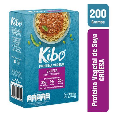 Comprar Proteina Vegetal Kibo Gruesa Soya Texturizada X 200g