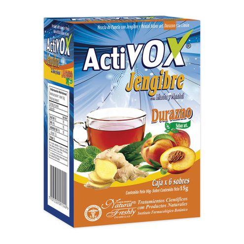 Comprar Activox Jengibre Durazno X 90g