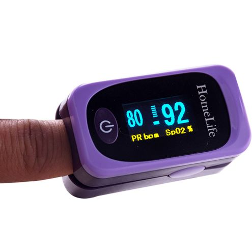 Comprar Pulsoximetro Homelife Adulto Pediatrico Purpura