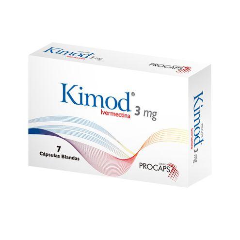 Comprar Kimod 3mg X 7 Capsulas Blandas