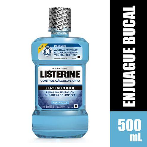Comprar Enjuague Bucal Listerine Control Calculo Zero X 500ml