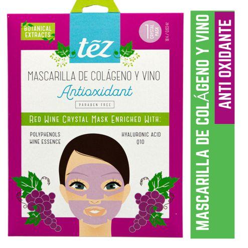 Comprar Mascarilla Facial Tez Colageno Y Vino X 80ml