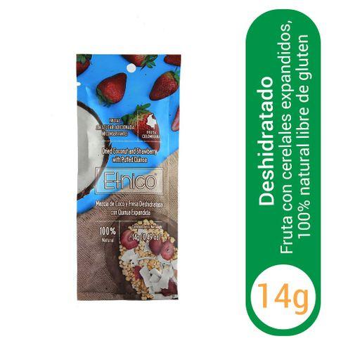 Comprar Fruta Deshidratada Etnico Coco Fresa X 14g