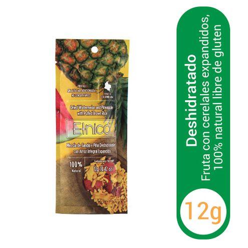 Comprar Fruta Deshidratada Etnico Sandia Piña X 12g