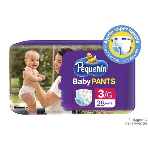 Comprar Pañal Pequeñin Baby Pants Etapa 3 X 28und